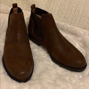 Franco Sarto Leather Booties